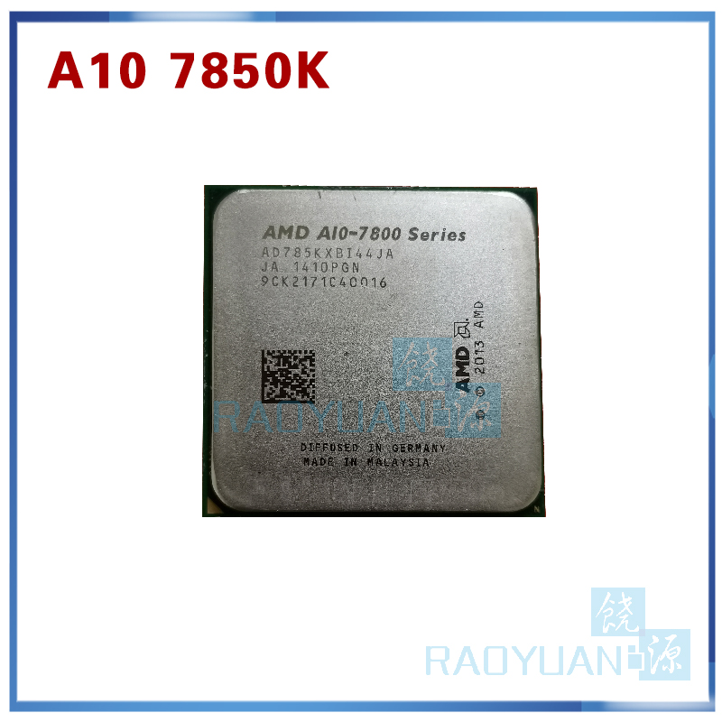 AMD A10 7800 Series A10-7850K A10 7850 A10 7850K 3.7 GHz Quad-Core CPU Processor AD785KXBI44JA Socket FM2+