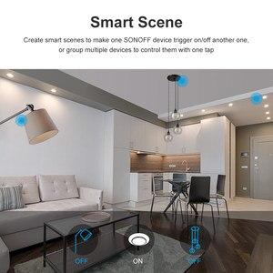 Image 5 - Itead Sonoff Nieuwe T2US 120 Size 1/2/3 Gang Tx Serie 433Mhz Rf Remoted Gecontroleerde Wifi Switch Werkt met Alexa Google Home Ifttt