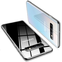 Funda de teléfono para Samsung Galaxy S10, carcasa ultrafina de TPU suave y transparente para Samsung Galaxy S10 S10e S10 + S 10e