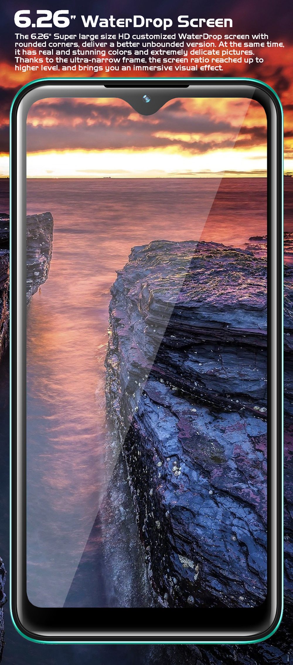 6.26 WaterDrop Screen