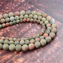 Wholesale Fashion Jewelry Frosted Green 4/6/8/10 / 12mm Suitable For Making Jewelry DIY Bracelet Necklace