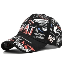 Hats Snapback-Hats Baseball-Cap Custom Color-Printing Women Graffiti Fashion Adjustable