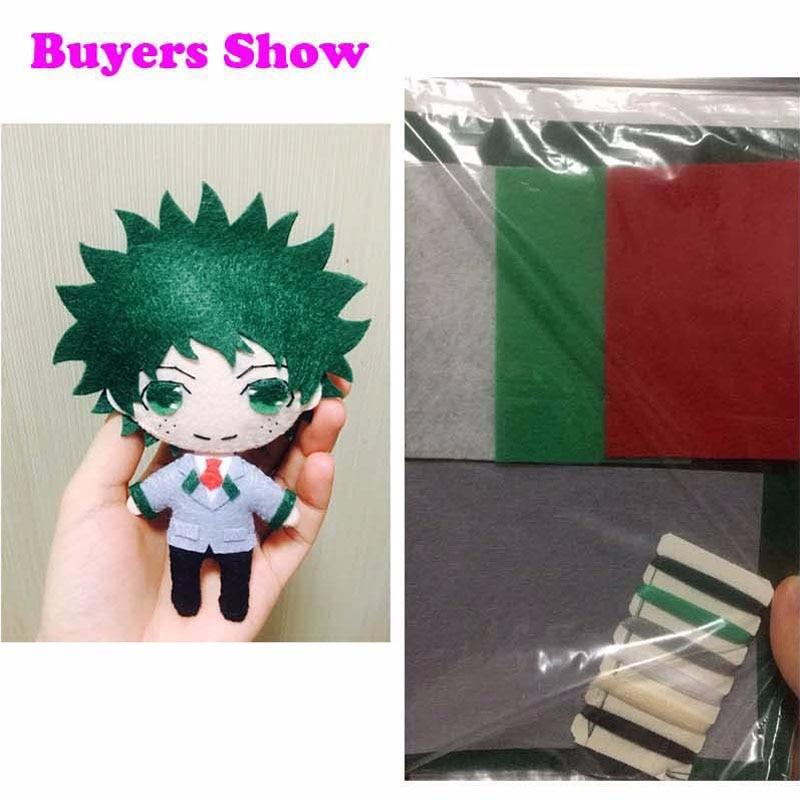 Bungou Stray Dogs Osamu Dazai Anime DIY Handmade Toy Bag Hanging Plush Doll Gift