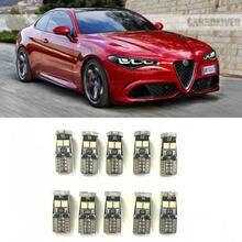 Canbus w5w luces interiores Led para Alfa Romeo 159, 145, 146, 147, 155, 156, 164, 166 33 4C BRERA GIULIETTA GT GTV MITO araña