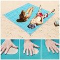 Туристический волшебный пляжный коврик, мат для путешествий на открытом воздухе, без песка, водонепроницаемый матрас для пляжа и пикника, с...