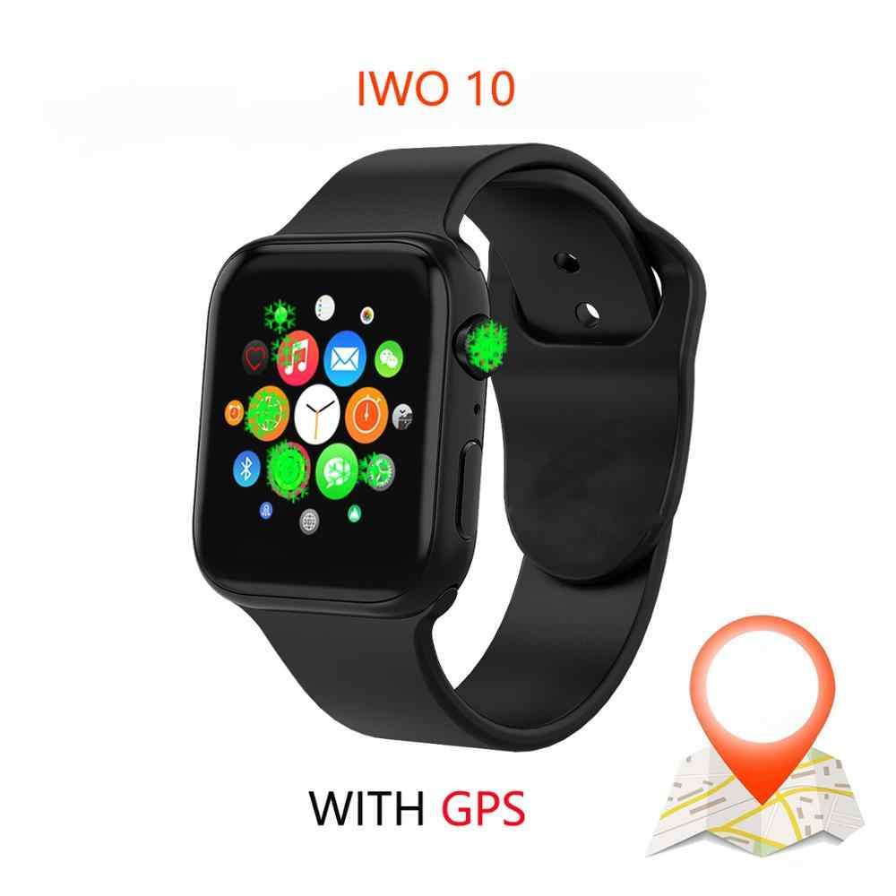Смарт-часы IWO 10 Bluetooth серии 1:1 4 gps Inteligente Brinde Pulseira SmartWatch Android для IOS Upgrade IWO 9 8 7 5 6
