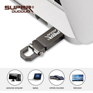 Image 2 - USB 2.0 バージョン 32 グラムの高速フラッシュドライブ防水金属キーチェーン。メモリスティック u ディスク