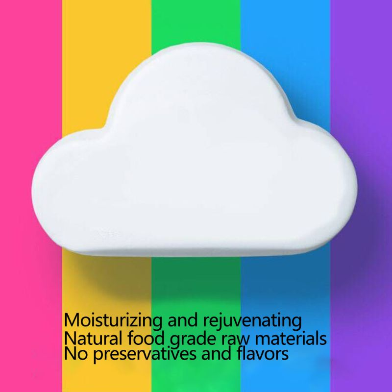 180g Rainbow Cloud Bath Bombs Dry Skin Moisturizing SPA Body Essential Oil Bubble Bath Salts Balls Exfoliating Gift With Box