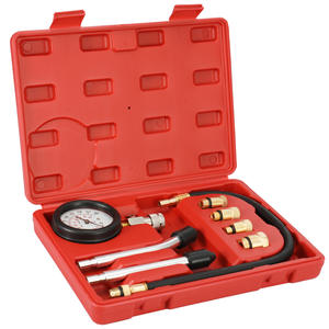 Engine-Compression-Tester Auto Hot with Case 0-300psi Cylinder Gasoline Petrol-Gas