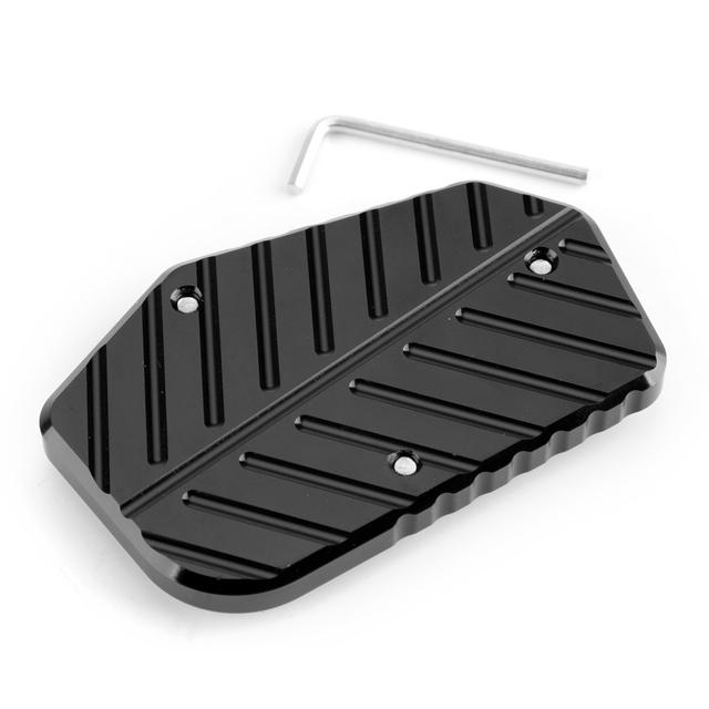 Artudatech For SUZUKI V-STROM DL 1000 DL1000 Sidestand Plate Kickstand Extension Pad VSTROM V Strom 2014-2017 Accessories