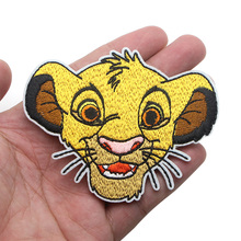 Cartoon Sticker for Clothing Applications Patches on Clothes Iron Embroidered Patch for Backpack Handbag Badge zotoone anatomical heart stripe badge embroidery patches for backpack stickers on clothes clothing iron on tactical patches diy