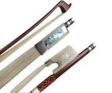 Profiss?o 1 peças forte snakewood 4/4 arcos de violoncelo, branco chifre de boi sapo #2