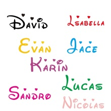 Customized Personalized Name Children Home Decor Nursery Kids Room Vinyl Sticker Decal Removable Wall Art