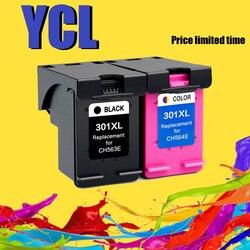 YLC 301XL Replacement for HP 301 301 XL Ink Cartridge for HP Deskjet 2540 1010 1510 2510 2050 1050 3000 4500 Officejet 4630 4634