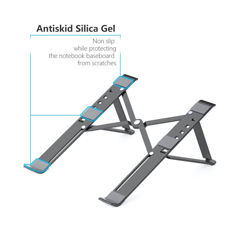 Adjustable-4-Angle-X-Style-Bracket-Folding-Aluminum-Laptop-Stand-Notebook-Holder-Desk-For-Macbook-Pro