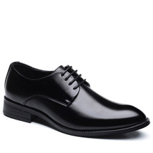 men wedding shoes microfiber leather formal business pointed toe for man dress mens oxford flats