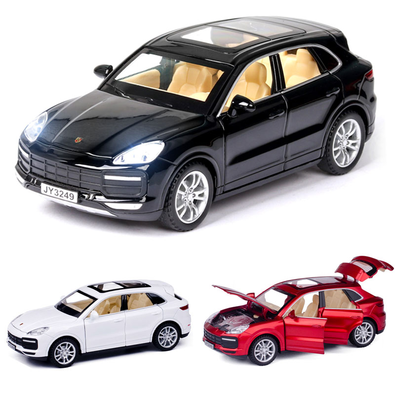 1:32 Porsche-Cayenne Turbo Car Model Alloy Car Die-cast Toy Car Model Sound And Light Children's Toy Collectibles Free Shipping