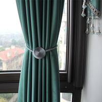 Ganchos magnéticos fuertes para cortina, Clips de decoración para el hogar, accesorio de hebilla, hebillas, gancho para cortina, 1 ud.