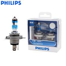Philips H4 9003 12V Corsa di Visione + 150% Più Luminoso Del Faro Dellautomobile Hi/lo Fascio Lampada Alogena Rally prestazioni ECE 12342RV S2, coppia