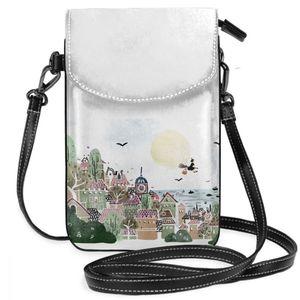 Image 5 - Studio Ghibli Shoulder Bag Mononoke Hime Leather Bag Student Slim Women Bags Crossbody Womens Trending Travel High quality Purse
