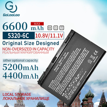 6 Cell Laptop Battery For ACER Extensa 5210 5220 5230 5420 5610 5620 5630 7220 7620 for TravelMate 5320 5520 5530 5710 5720