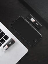 AIGO Dữ Liệu Khóa USB 32GB 64GB Bút USB Flash Bảo Vệ Ghi Pendrive Virus Đèn Flash Ổ CLE USB Thẻ Nhớ