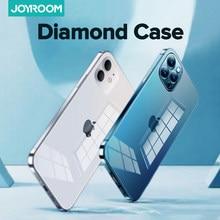 Joyroom – coque de Protection complète antichoc pour iPhone, compatible modèles 12 Pro Max 12 mini, TPU + PC, 12 min, transparente