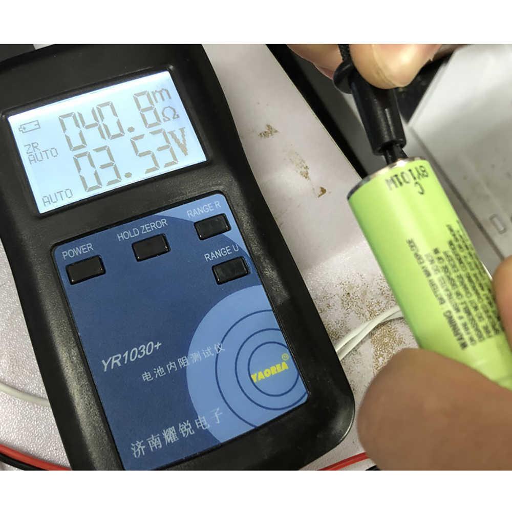 YR1030 リチウムバッテリ内部抵抗テスト楽器ニッケル nickle 水素ボタン電池テスターコンビネーション 1
