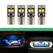 T10 LED Blub 3030 No Error Canbus 168 W5W White Red Car LED Map Light Interior Lamp Bulb For Opel Astra H J G Corsa D C Insignia цена 2017