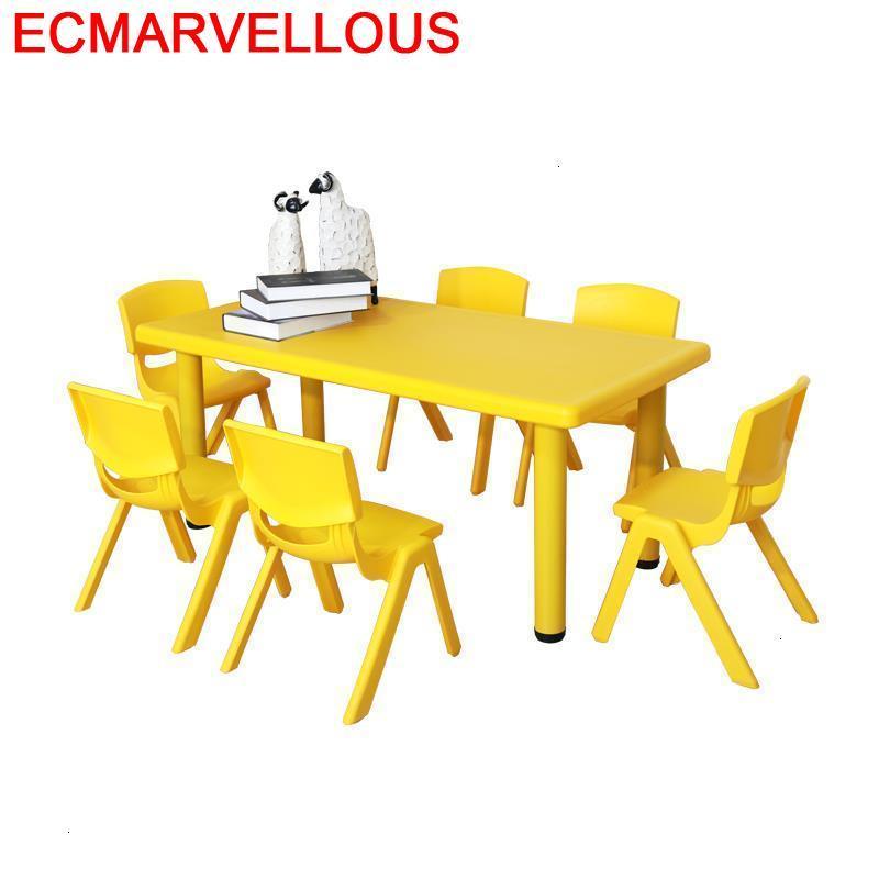 Play Toddler Child Cocuk Masasi And Chair Tavolo Tavolino Bambini Kindergarten Bureau Enfant Study For Kids Children Table