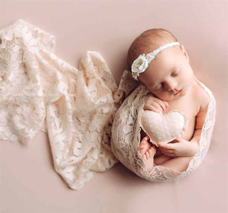 Cobertor Adereços Fotografia Envoltório Do Bebê Boneca