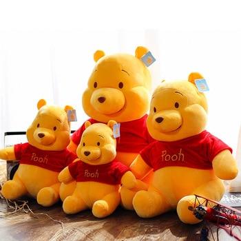 Genuine Disney Winnie the Pooh Plush Cartoon Bear Original Cute Soft action model Toy Childrens birthday gift