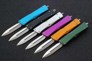 Image 2 - VESPA Knife Blade:S35VN(D/E.S/E),Handle:Aluminum,camping survival outdoor EDC hunt Tactical tool dinner kitchen knife