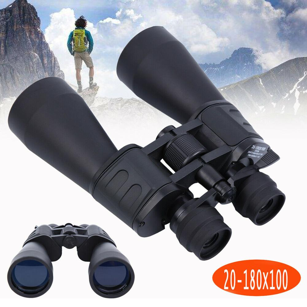 (Ship From EU) 20-180X100 Zoom Pro Night Vision HD Binoculars Long Range Hunting High Definition Telescope Outdoor BAK
