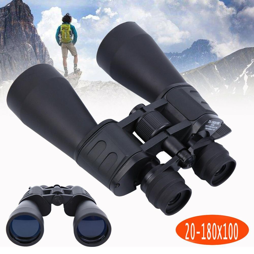 (Ship From EU) 20-180X100 Zoom Pro Night Vision HD Binoculars Long Range Hunting High Definition Telescope Outdoor BAK