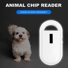 Leitor de identificação do animal de estimação iso11784/5 FDX-B animal id leitor chip transponder usb rfid handheld microchip scanner para animais frete grátis