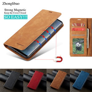 Flip Leather Case for Huawei P Smart 2019 Huwei P40 P30 P20 Mate 30 20 Pro Lite Luxury Card Holder Wallet Stand Magnetic Cover(China)