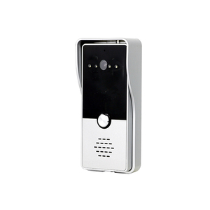 "Image 5 - Dragonsview 7 ""Wired וידאו דלת מערכת אינטרקום טלפון הקלטת SD כרטיס 16GB מתכת פעמון אינטרקום 1200TVL זיהוי תנועה"