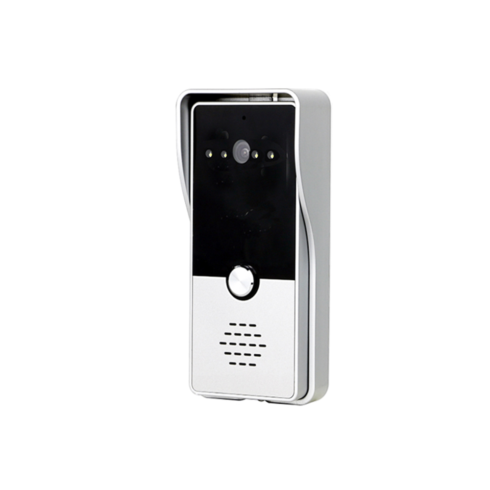 "Image 5 - Dragonsview 7"" Wired Video Intercom System Door Phone Recording SD Card 16GB Metal Doorbell Intercom 1200TVL Motion DetectionVideo Intercom   -"