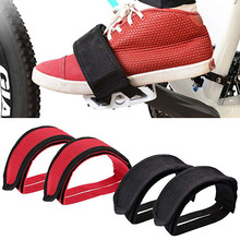 Belt Pedal-Tape Bicycle-Pedal Toe-Clip Nylon Straps Cycling-Cover Fixed-Gear Bike NEW
