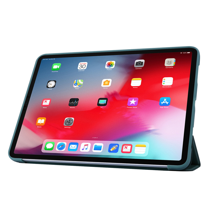 2020 Tri-fold Soft Case Case iPad 11Pro For Case Cover PU For Leather Silicone Smart