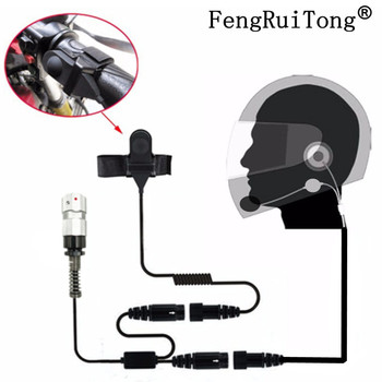 Helmet Headset 6 Pin PTT Motorcycle Half helmet Headphone For TRI TCA/AN PRC-148 PRC-152 Walkie Talkie PRC148 PRC152