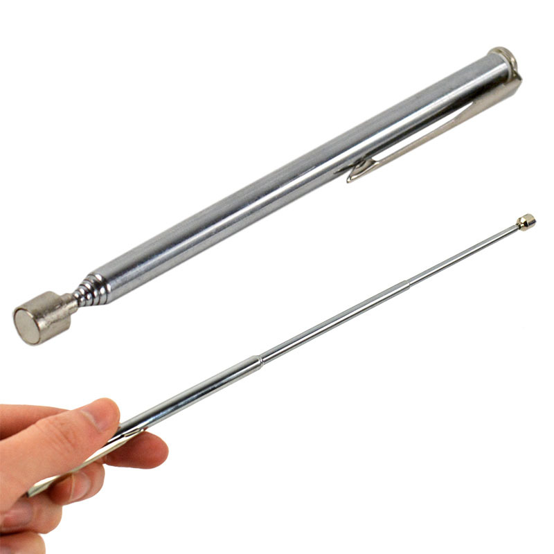 Pen-Based Magnet Picker Suction Rod Telescopic Magnetic Pick-up Device Grabbers Suction Rod Automobile Maintenance & Repair Tool