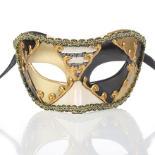 Angel design party mask Half Face Masquerade Ball Mask Musical Party Mardi Gras Halloween Show