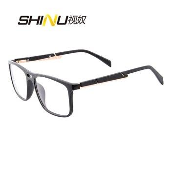 SHINU Progressive Multifocal reading Glasses men See Far or Near Readers Presbyopia Eyeglasses Oculos Gafas Очки для чтения 6131