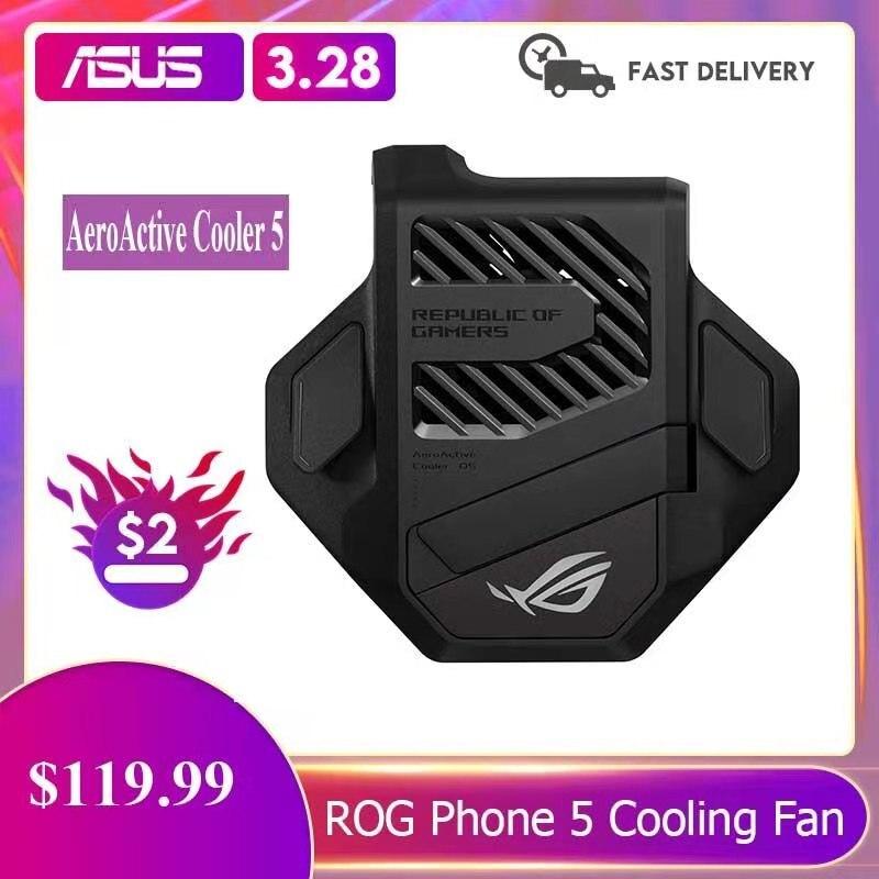 Новый оригинальный кулер AeroActive 5 для ASUS ROG Phone 5, держатель вентилятора охлаждения, игровой антинагревательный адаптер ROG5