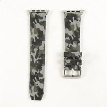 Camouflage Silicone Strap for Apple Watch Band 44mm 40mm 38mm 42mm Bracelet for iWatch 4 3 2 1 Accessories New Sport Wrist Belt цена и фото