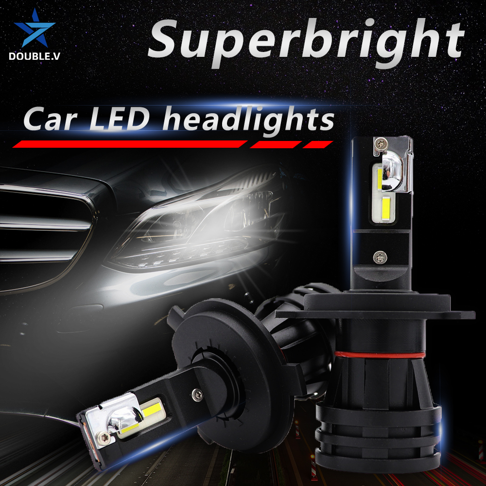 Car Lights <font><b>LED</b></font> H7 12000LM <font><b>cree</b></font> H4 <font><b>LED</b></font> Lamp for Car Headlight Bulbs H11 H1 9005 9006 HB3 <font><b>HB4</b></font> cambus H7 <font><b>LED</b></font> Bulbs 12V image