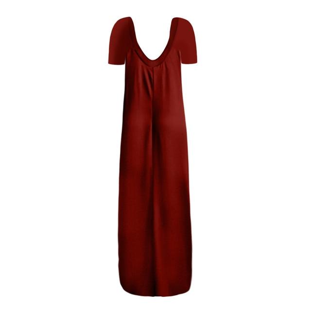 Plus Size 5xl Sexy Women Dress Summer 2021 Solid Casual Sleeveless Maxi Dress For Women Long Dress Dropshipping Lady Dresses 5