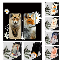 NBDRUICAI Animal Fox in the wild Wood TPU Soft Silicone Phone Case For Samsung A10 A20 A30 A40 A50 A70 A7 A9 A6 A8 Plus 2018(China)